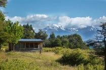 Vista Norte, andes patagonicos - Lago General Carrera