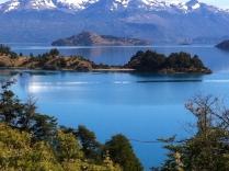 Imagen de la vista hacia el norte, Bahia Catalina, Andes Patagonicos, Lago General Carrera